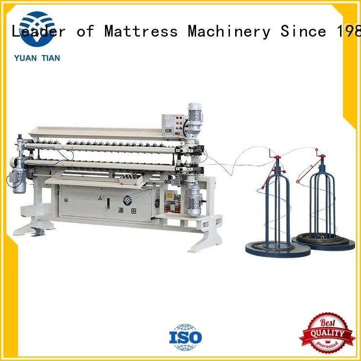 Semi-Auto Spring Assembling Machine testing yuantian YUANTIAN Mattress Machines