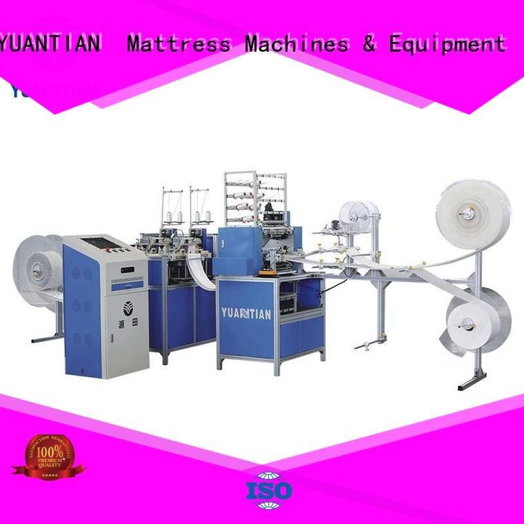 YUANTIAN Mattress Machines Mattress Quilting Machine producer workforce