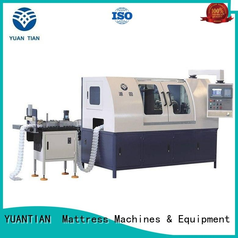 YUANTIAN Mattress Machines solid Automatic Pocket Spring Production Line free design yuantian