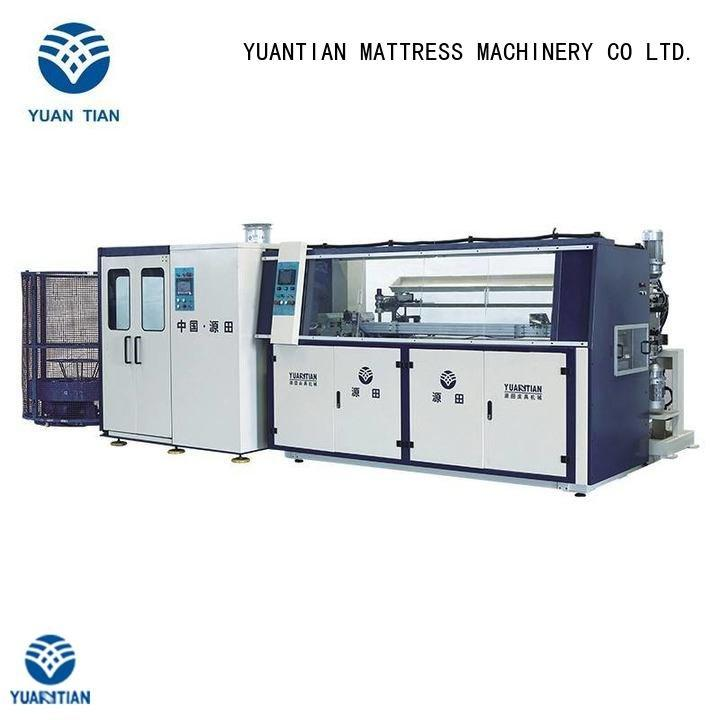Hot bonnell spring machine spring zj3 machine YUANTIAN Mattress Machines Brand