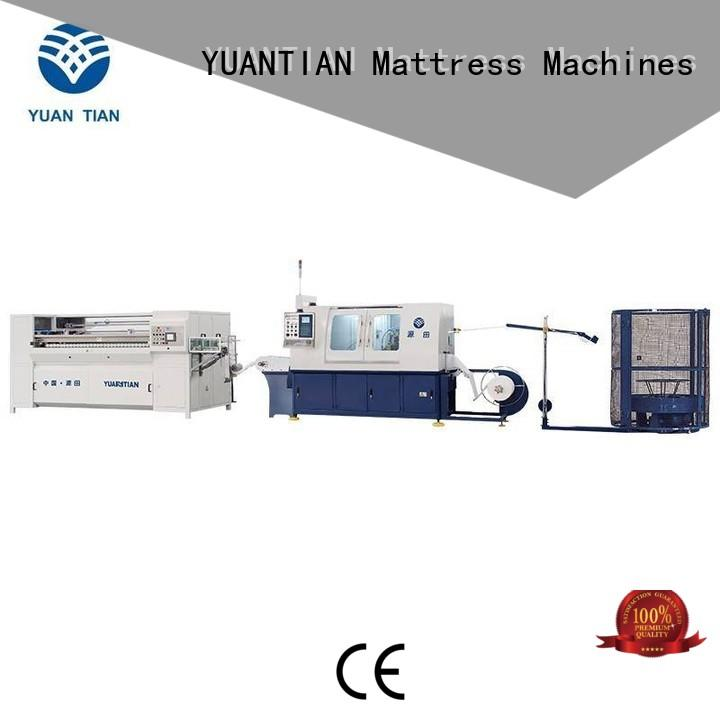 YUANTIAN Mattress Machines Brand speed pocketspring custom Automatic Pocket Spring Machine