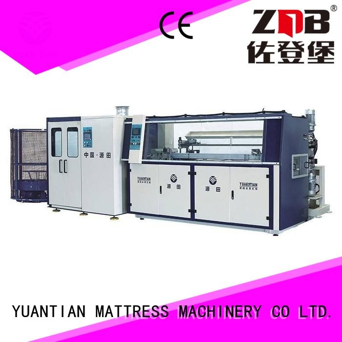 YUANTIAN Mattress Machines fine- quality Automatic Bonnell Spring Coiling Machine line yuantian