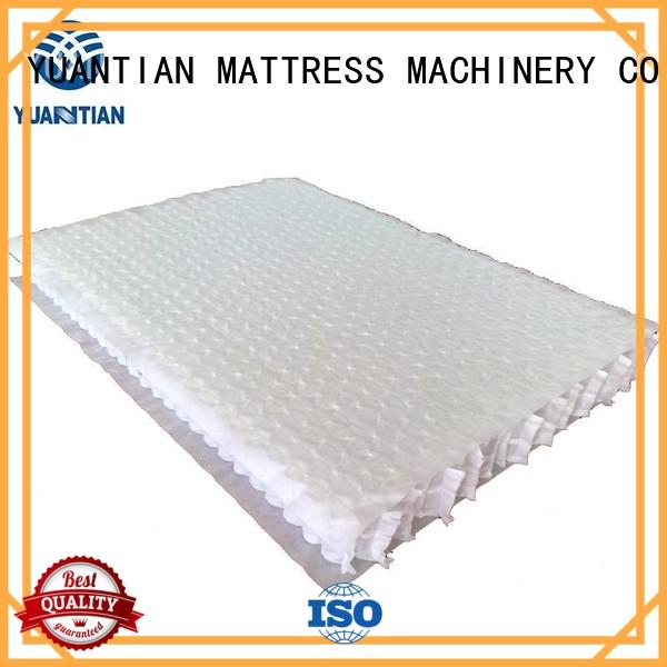 YUANTIAN Mattress Machines high efficiency spring coil unit workshop
