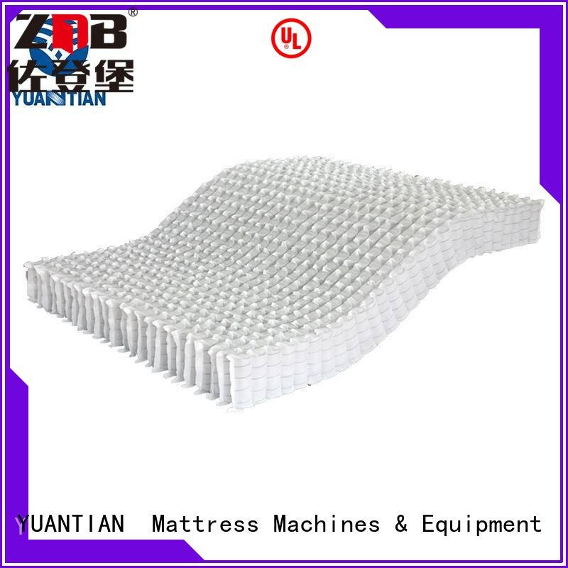 YUANTIAN Mattress Machines mattress spring unit bulk production yuantian