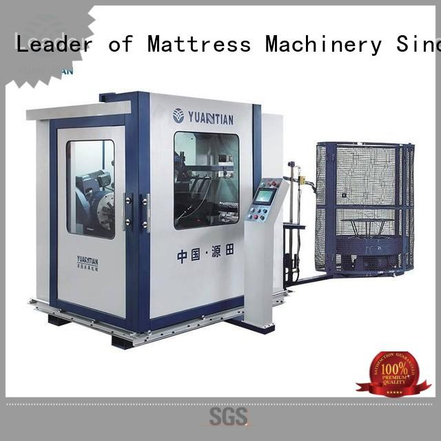 YUANTIAN Mattress Machines industry-leading Automatic Bonnell Spring Coiling Machine factory price faculty