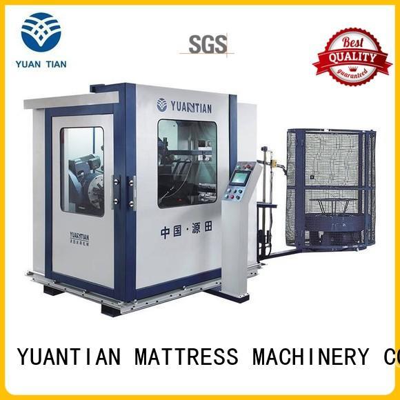 YUANTIAN Mattress Machines fine- quality bonnell spring machine unit workshop