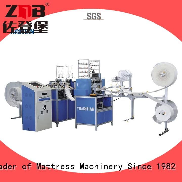 YUANTIAN Mattress Machines speed tape edge quilting machine for mattress supplier yuantian