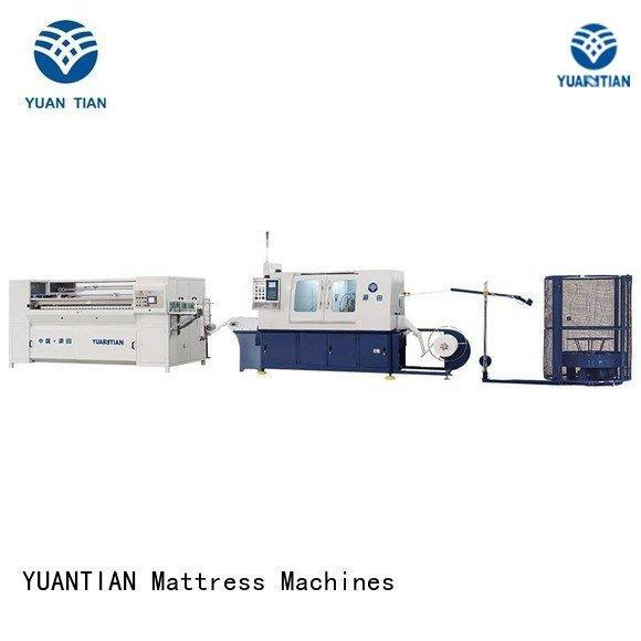YUANTIAN Mattress Machines Automatic High Speed Pocket Spring Machine dzg1a dzg6 dn6 pocket