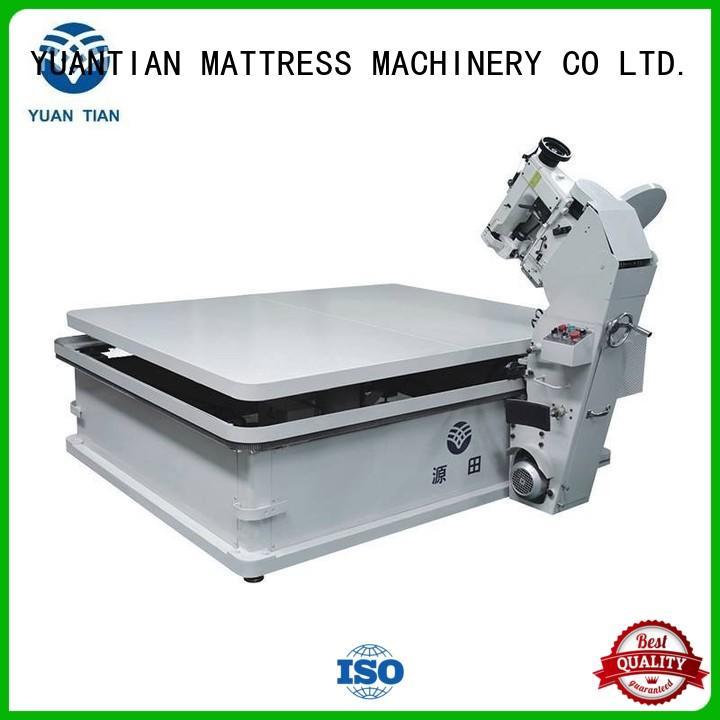 YUANTIAN Mattress Machines solid mattress tape edge machine workforce