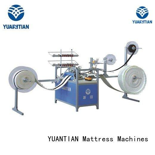 YUANTIAN Mattress Machines Brand arm decorative bhy1 singer  mattress  sewing machine price