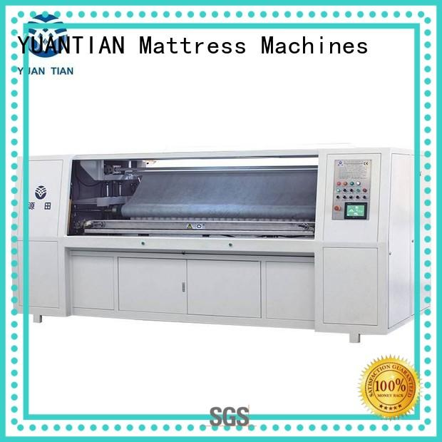 YUANTIAN Mattress Machines solid mattress manufacturing equipment for sale melt faculty
