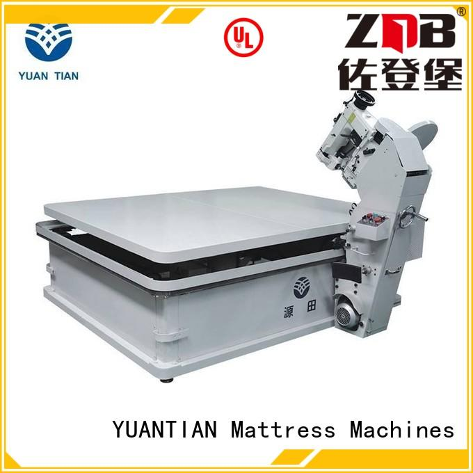 top machine YUANTIAN Mattress Machines Brand mattress tape edge machine factory