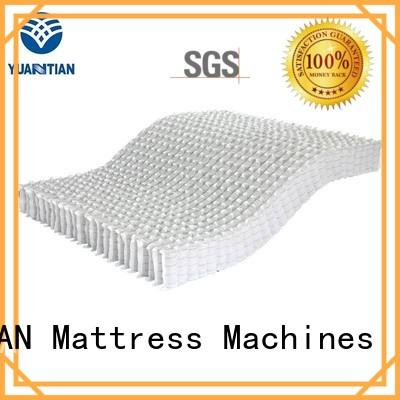 YUANTIAN Mattress Machines automatical pocket spring unit workshop