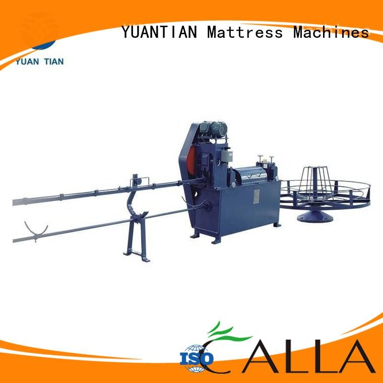 unit Wholesale bending foam mattress making machine YUANTIAN Mattress Machines Brand rollpack spring poket