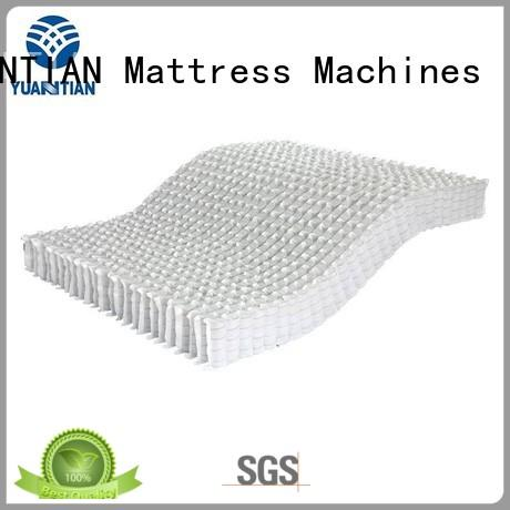 YUANTIAN Mattress Machines scientific pocket spring unit factory