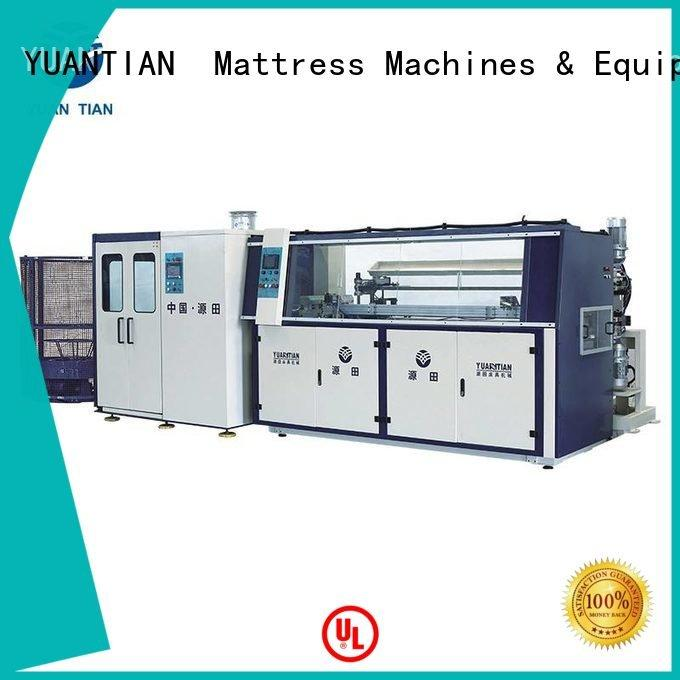 line automatic bonnell bonnell spring machine YUANTIAN Mattress Machines