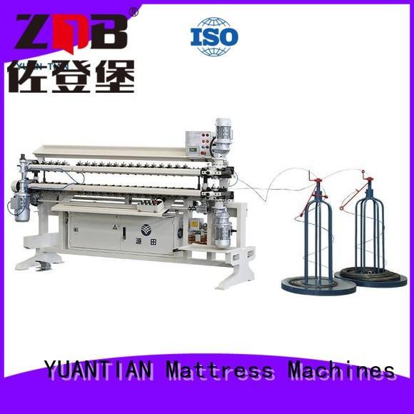 machine spring assembling YUANTIAN Mattress Machines Brand Bonnell Spring Assembly  Machine