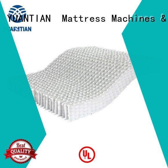 Quality YUANTIAN Mattress Machines Brand mattress spring unit