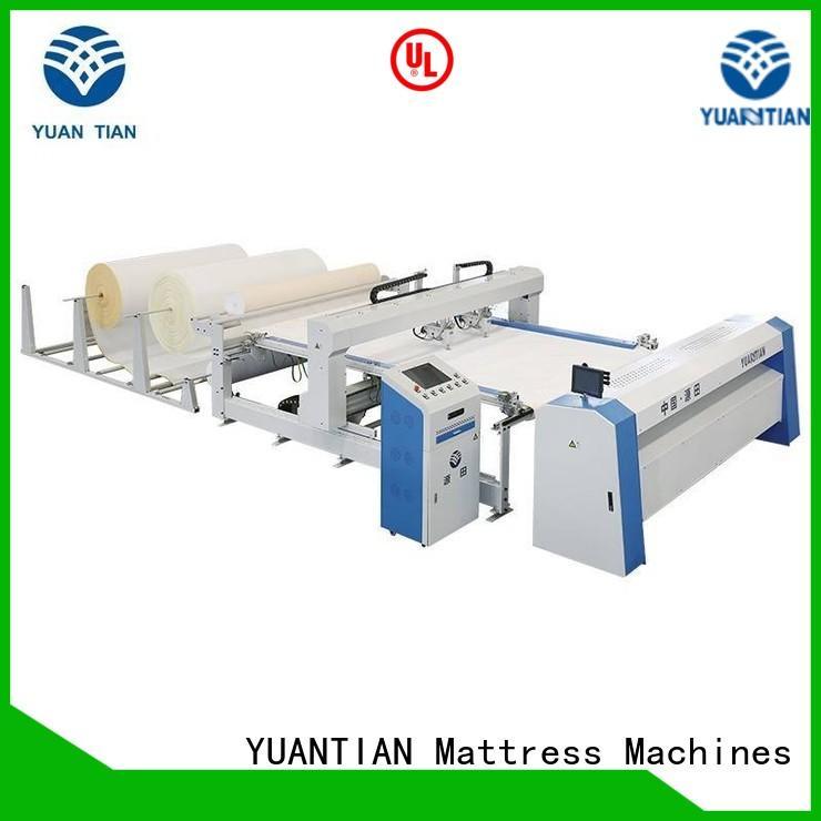 quilting machine for mattress vendor workforce YUANTIAN Mattress Machines