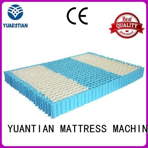 pocket spring unit widely-use workforce YUANTIAN Mattress Machines