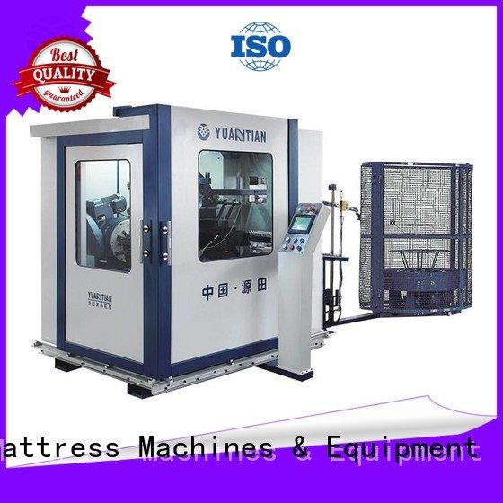 YUANTIAN Mattress Machines Brand coiler spring line Automatic Bonnell Spring Coiling Machine automatic