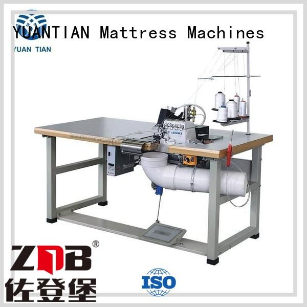 YUANTIAN Mattress Machines advanced double serge machine for wholesale easy-operation