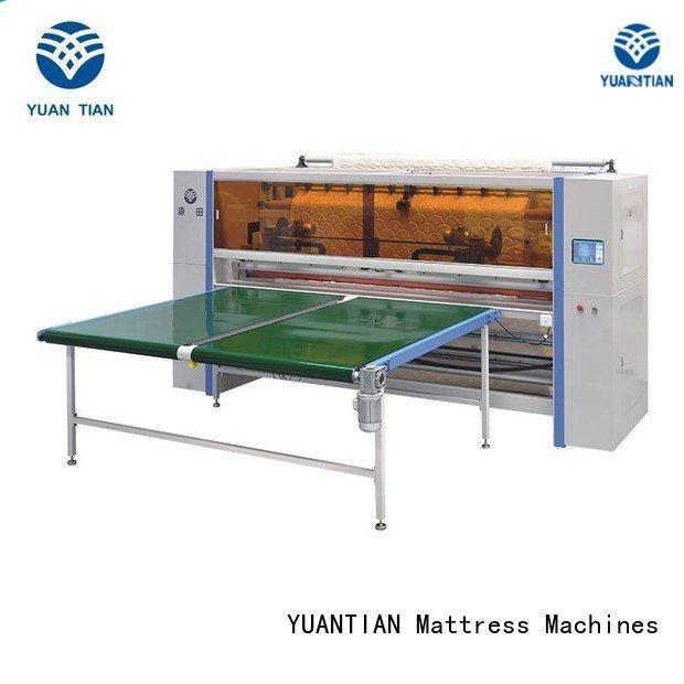 cutting Mattress Cutting Machine YUANTIAN Mattress Machines Mattress Cutting Machine Supplier
