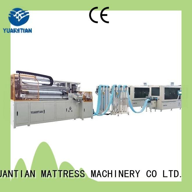 Pocket spring coiling machine spring workshop YUANTIAN Mattress Machines
