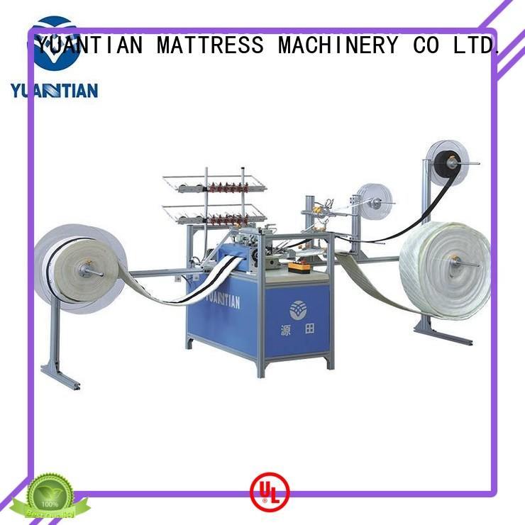 YUANTIAN Mattress Machines mattress sewing machine manufacturers order now workshop