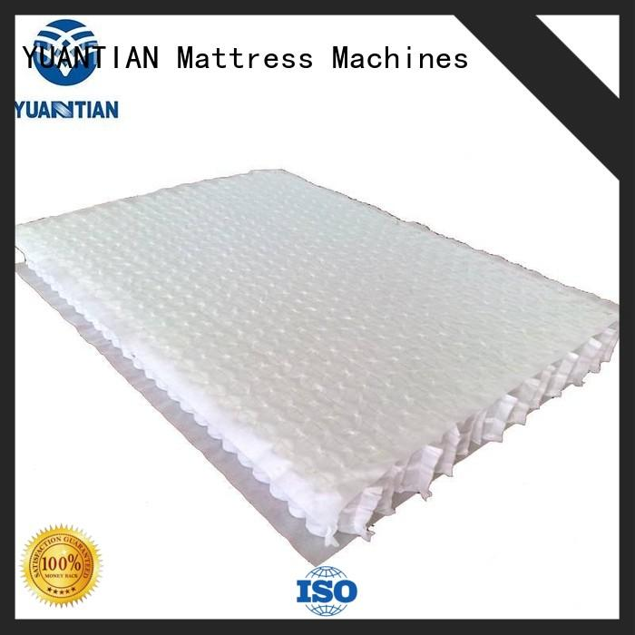 nested pocket spring unit widely-use workshop YUANTIAN Mattress Machines