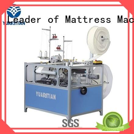 YUANTIAN Mattress Machines high-quality Double Sewing Heads Flanging Machine check now easy-operation