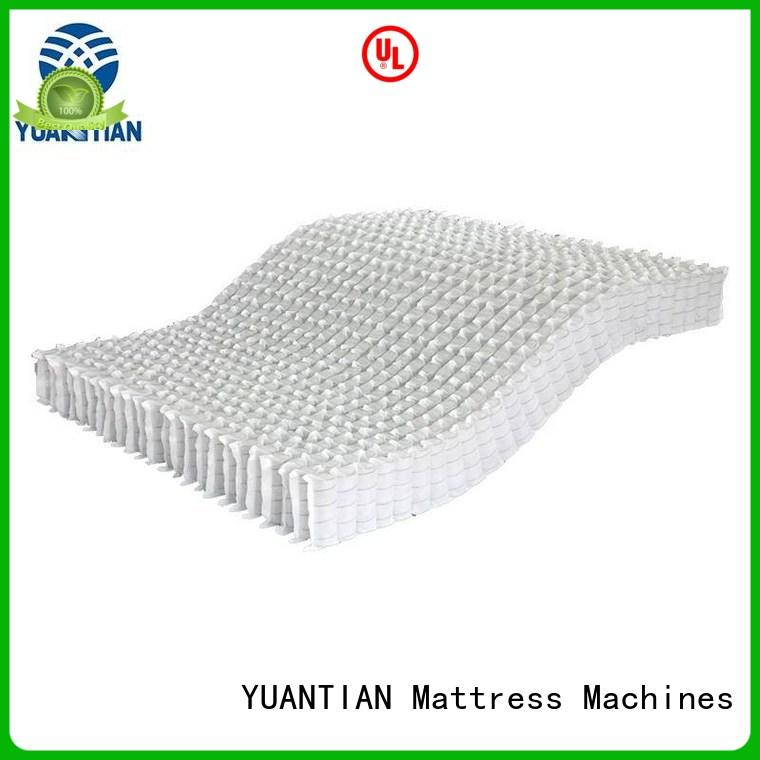 YUANTIAN Mattress Machines first-rate pocket spring unit bulk production workshop