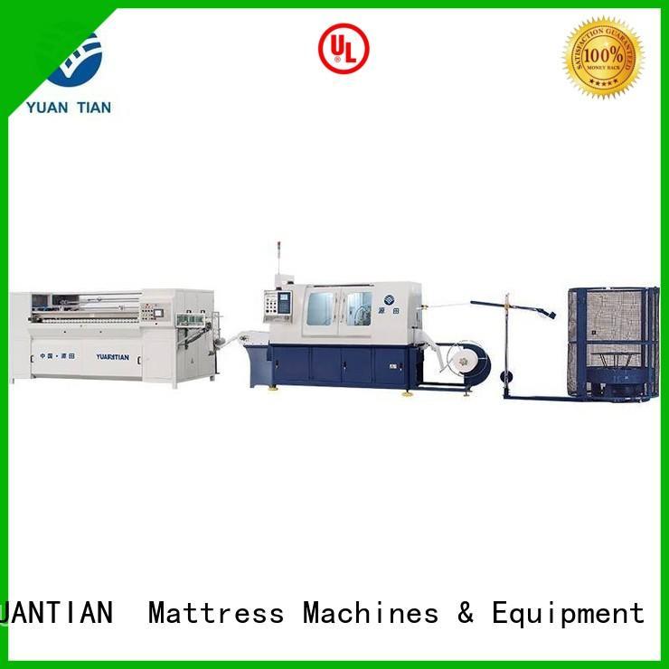 speed assembling Automatic Pocket Spring Machine assembler YUANTIAN Mattress Machines company