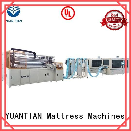 Automatic Pocket Spring Machine high assembling Automatic High Speed Pocket Spring Machine speed YUANTIAN Mattress Machines Brand