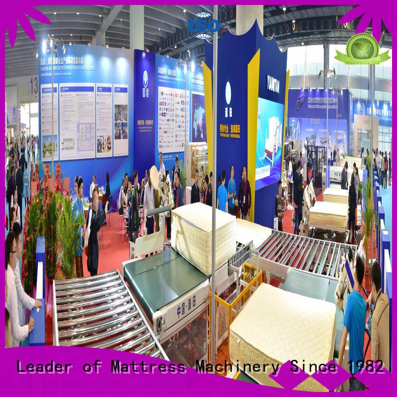 twin mattress to king converter transfer production Auto Mattress Conveyor Production Line YUANTIAN Mattress Machines Brand