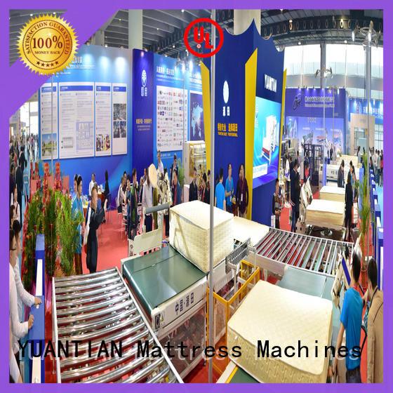 YUANTIAN Mattress Machines fine- quality Auto Mattress Conveyor Production Line conveyor workshop