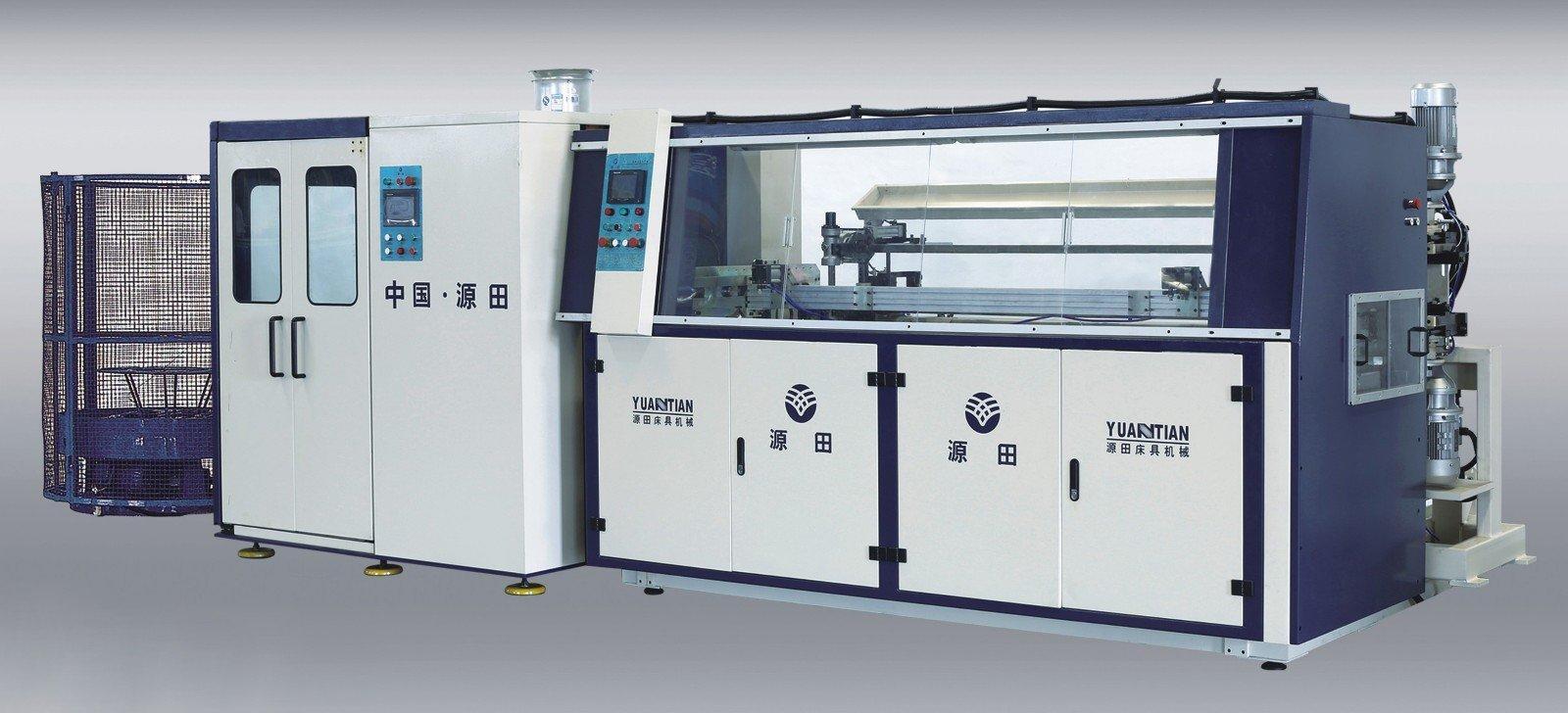 coiler automatic bonnell spring machine YUANTIAN Mattress Machines manufacture