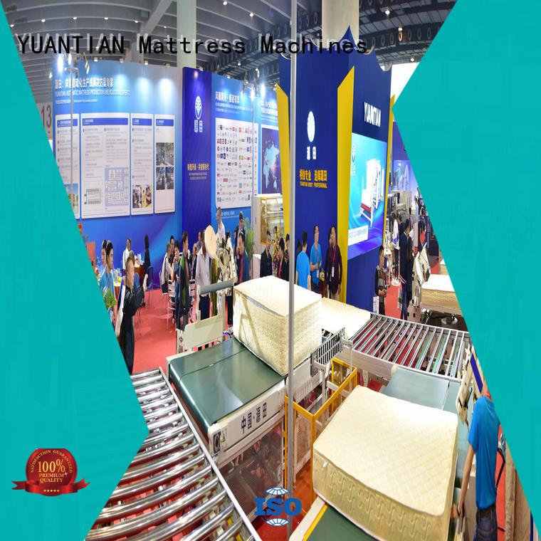 YUANTIAN Mattress Machines Brand automatic mattress conveyor Auto Mattress Conveyor Production Line