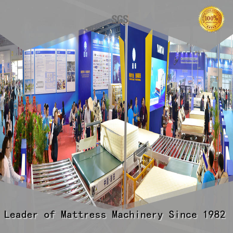 fine- quality Auto Mattress Conveyor Production Line wholesale workforce