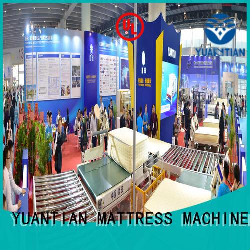 twin mattress to king converter automatic mattress Auto Mattress Conveyor Production Line YUANTIAN Mattress Machines Brand