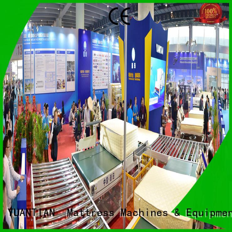 twin mattress to king converter automatic transfer Auto Mattress Conveyor Production Line YUANTIAN Mattress Machines Warranty