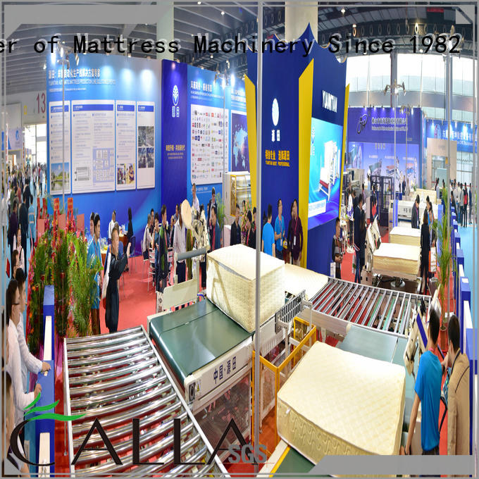 conveyor transfer Auto Mattress Conveyor Production Line YUANTIAN Mattress Machines Brand