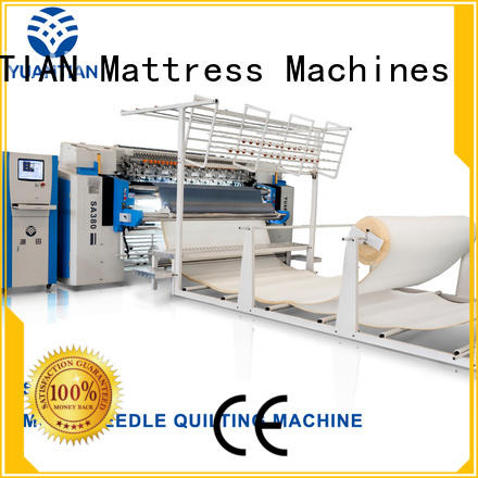 YUANTIAN Mattress Machines Mattress Quilting Machine producer yuantian