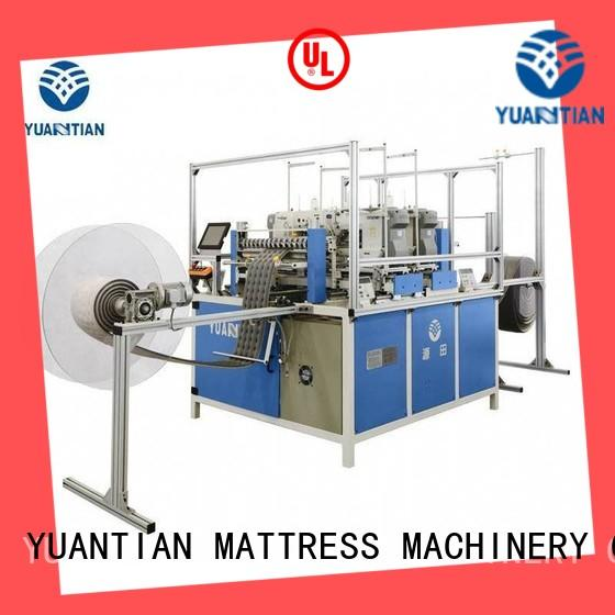 YUANTIAN Mattress Machines mattress sewing machine manufacturers from manufacturer easy-operation