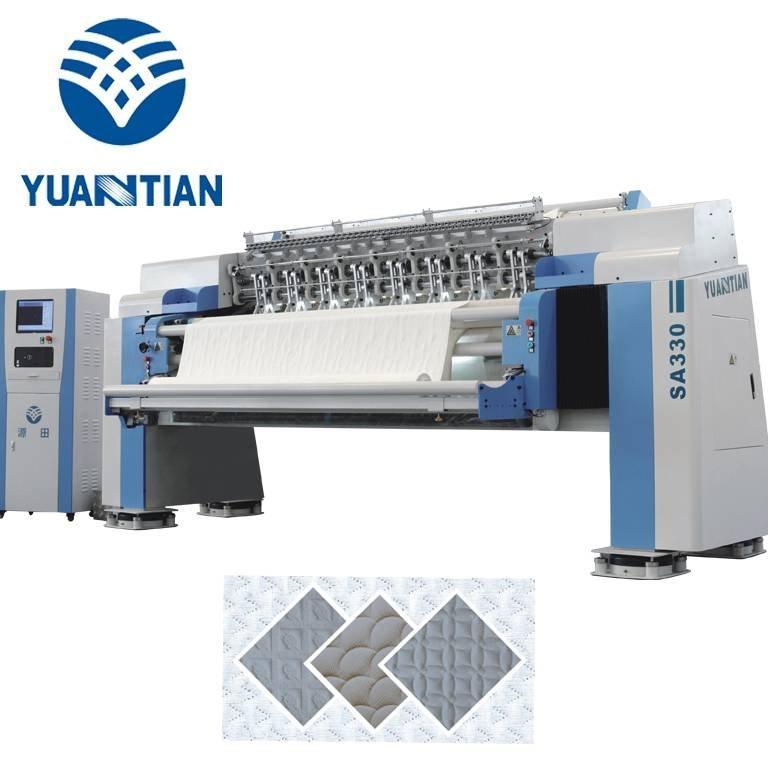 SA-330  High-speed Multi-needle Mattress Quilting Machine