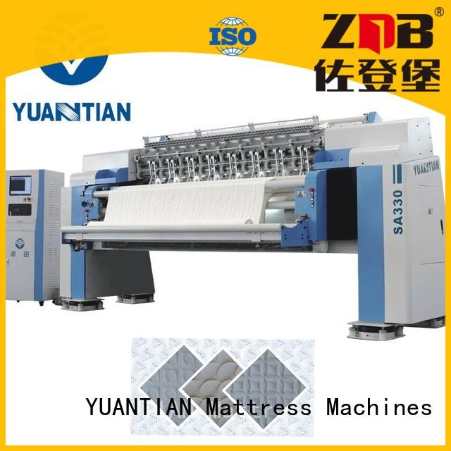 quilting machine for mattress price four quilting machine for mattress YUANTIAN Mattress Machines Brand