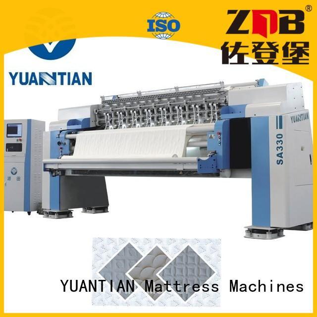 quilting machine for mattress price four quilting machine for mattress YUANTIAN Mattress Machines Brand