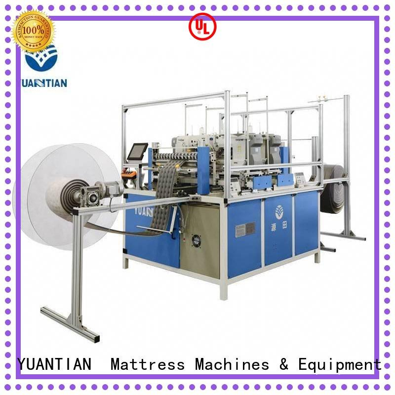 YUANTIAN Mattress Machines reliable singer heavy duty mattress sewing machine workshop