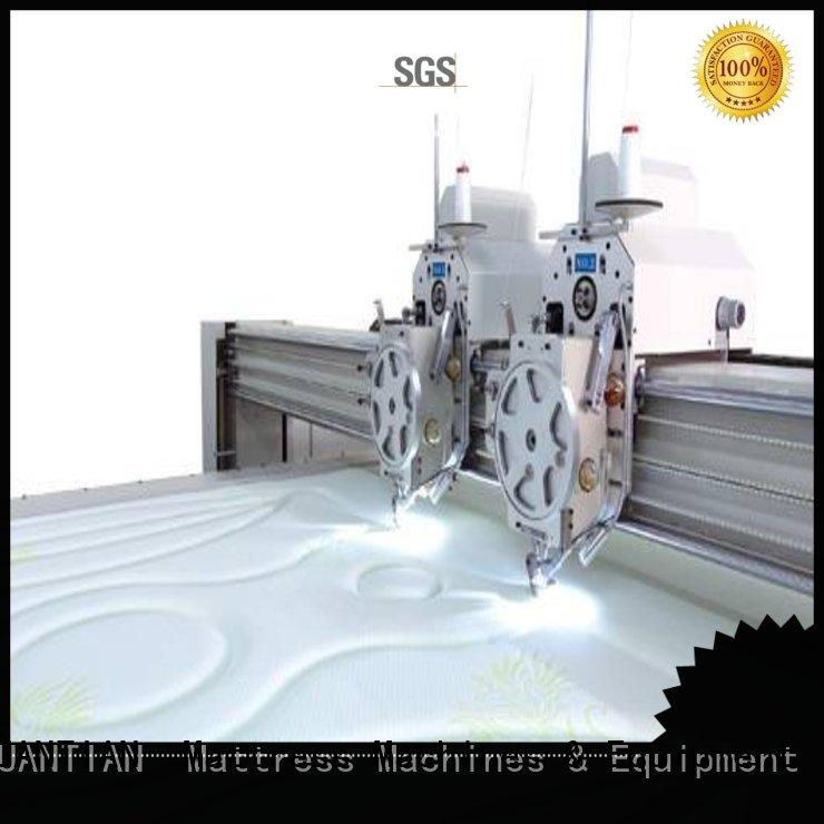 double quilting machine for mattress price highspeed YUANTIAN Mattress Machines company