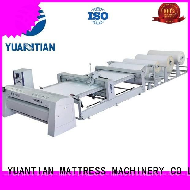 mattress multi needle quilting machine manufacturer factory YUANTIAN Mattress Machines